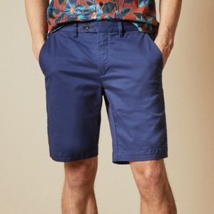 Ted Baker Corsho Blue Chino Shorts
